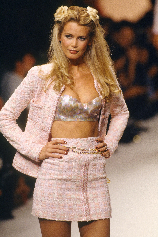 Et Lagerfeld créa Claudia Schiffer